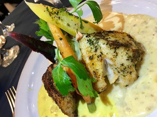 The melange of fish, a trio of fresh fish with varying sauces and cooking styles, has long been a favorite on the Cafe Margaux menu.