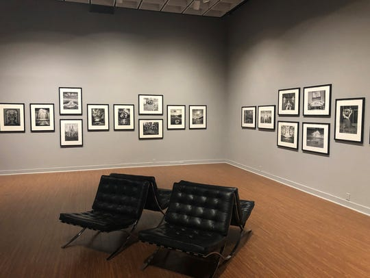 Part of the Jerry Uelsmann at Bob Rauschenberg Gallery