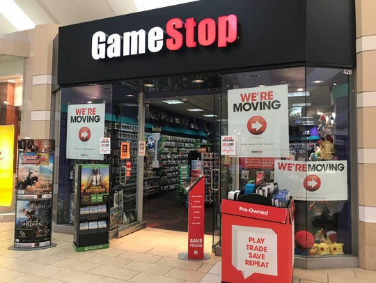 The Game Stop store in Wausau Center mall will close