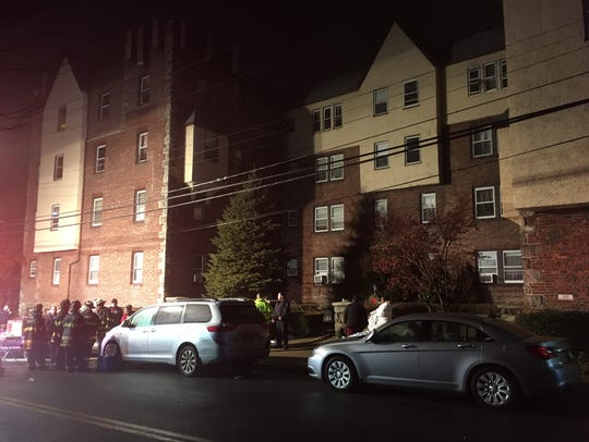 A fire broke out in an apartment building at 3 Dillon