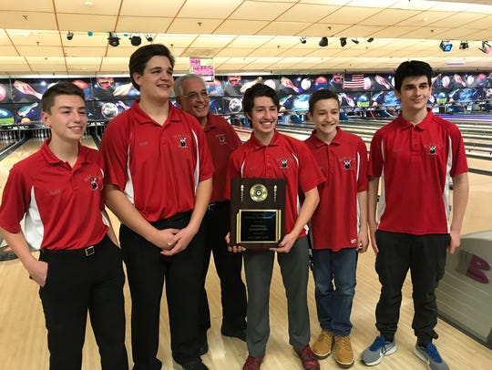 The Fair Lawn boys bowling team captured its first