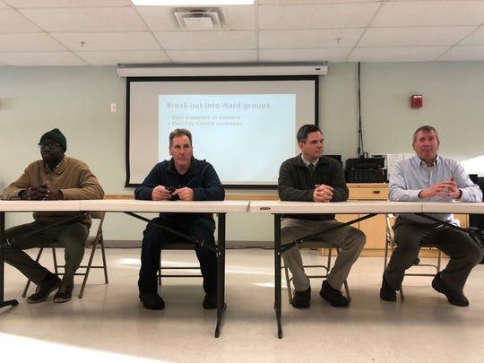 From left: Ali Dieng, Joel FitzGerald, James Lockridge