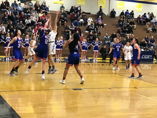 The Reno girls beat Reed, 60-40 Friday at Reed.
