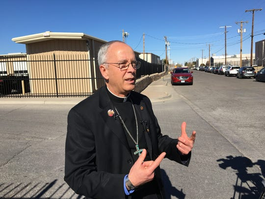 El Paso Bishop Mark J. Seitz on Saturday said the way
