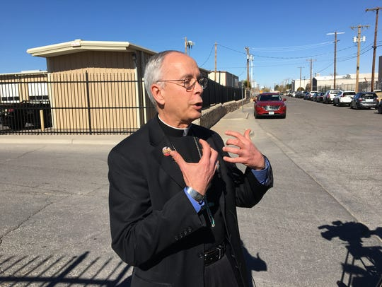 "El Paso Bishop Mark J. Seitz said the asylum case of Mexican journalist Emilio Gutierrez Soto should ""concern all Americans."""