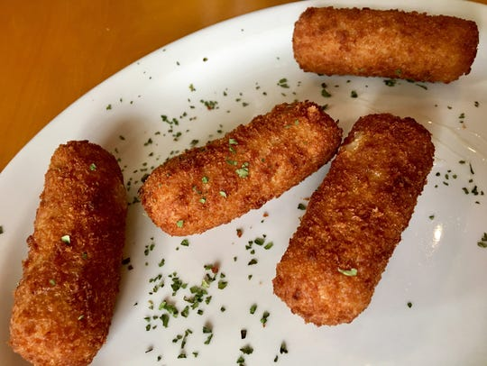 The ham croquettes at Latin Flavor were as they should