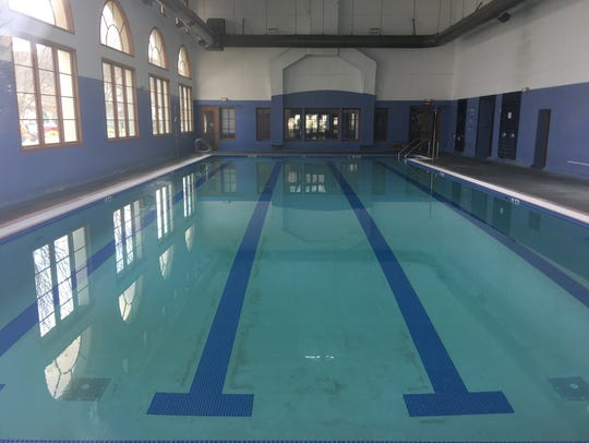 The former YMCA's swimming pool will be filled in so the room can serve as the main auditorium for Thousand Oaks Councilman and Pastor Rob McCoy's church.