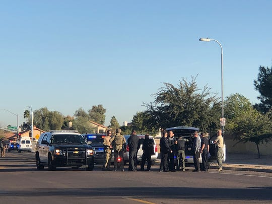 Peoria police shot a man who had fired at officers
