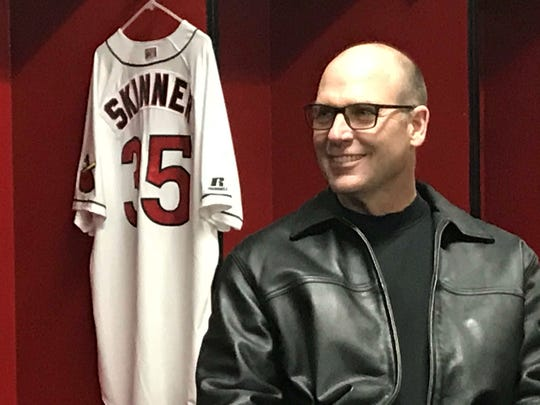 The Rochester Red Wings introduced Joel Skinner, 56,
