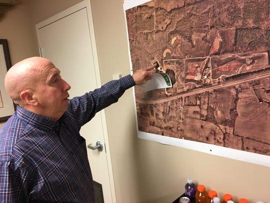 Bi-County Solid Waste Director David Graham points