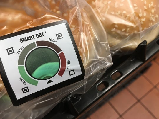 "McDonald's uses a ""smart dot"" to keep track of the"