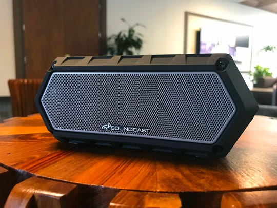 The Soundcast VG1 portable speaker is wireless and