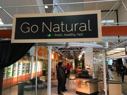 Go Natural offers soups, salads, hot and cold sandwiches,