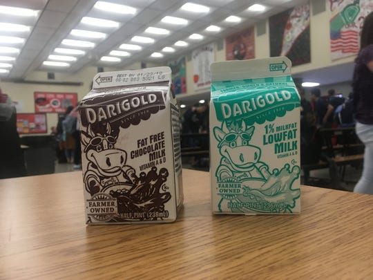 Central Kitsap School District, like most in the area, serves fat-free chocolate milk and low-fat plain milk. Because of student preferences, about 85 percent of the milk purchased by the district is chocolate.