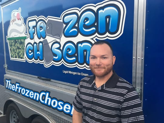 Former Marine James Hardenbrook owns The Frozen Chosen