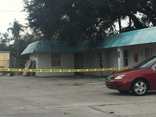 A shooting at the Palm Beach motel claimed the life