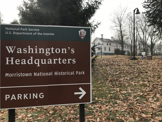 Washington's Headquarters in Morristown remained closed Monday shortly after the three-day government shutdown came to an end. (Jan. 22, 2018.)