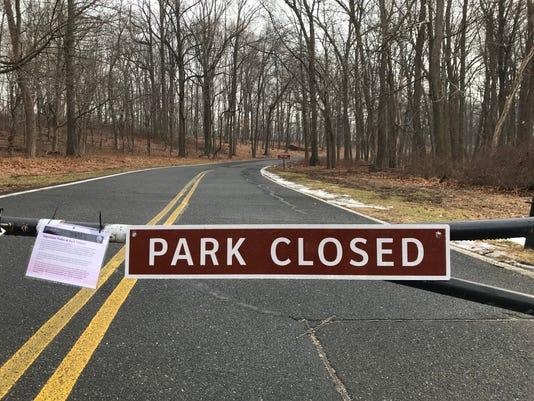 Jockey Hollow shutdown