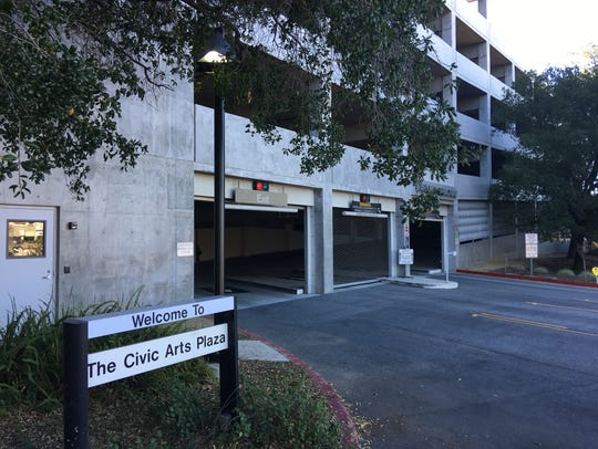 The Thousand Oaks Civic Arts Plaza parking structure renovation project will consist of new interior storage areas, lighting and signage.