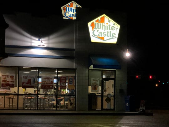 White Castle in Evansville is accepting reservations