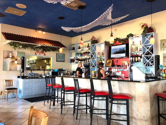 Mykonos Kunzina offers a menu of Mediterranean plates in the former Tuscany Osteria space at Wiggins Pass Road and U.S. 41.