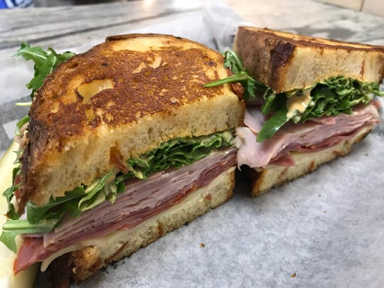 The Godfather sandwich from Blue Marble Deli and City