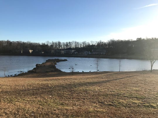 Oak Grove Lake, a Greenville County Park, is located