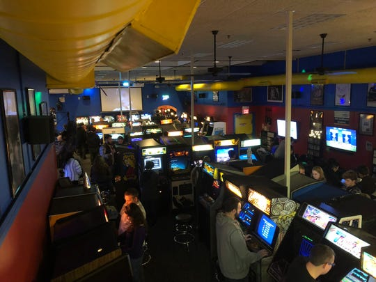 YESTERcades' Red Bank location, pictured, is 3,000 square feet. The forthcoming Westfield location at 151 E. Broad St. will be nearly three times as big.