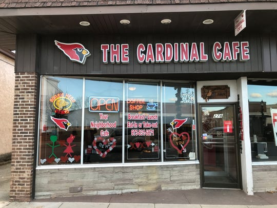 The Cardinal Cafe, a popular breakfast and lunch spot
