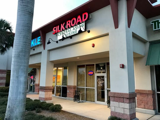 Silk Road serves Uzbek and Central Asian cuisine in a Winn Dixie-anchored plaza in south Fort Myers.