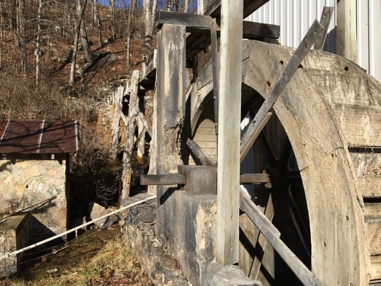 This water mill was once the hub of Zanoni, a community