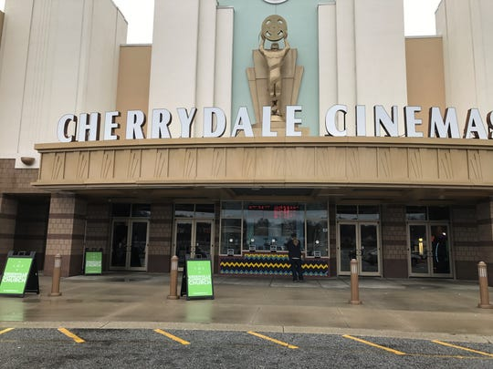 A movie theater in Greenville is home to the Greenville