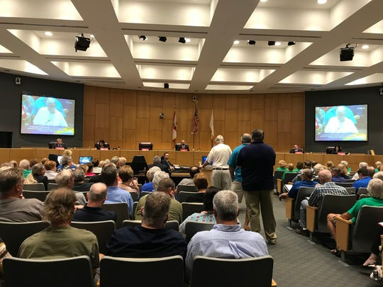 About 15 Cape Coral residents spoke at Monday's committee of the whole meeting in favor of the city purchasing the 175-acre abandoned golf course in south Cape, with no one speaking against the purchase.