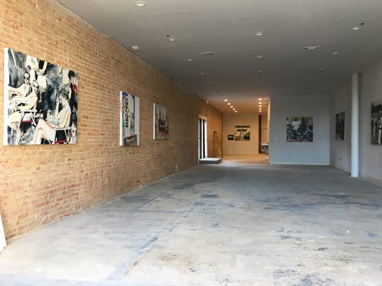 Street level retail spaces will artwork by local artists
