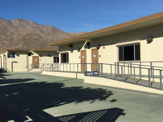 College of the Desert opened its temporary Palm Springs campus Monday. About 600 students are enrolled.