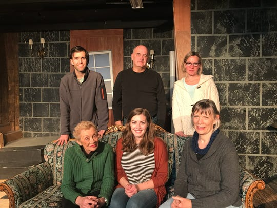 "Cast members of ""37 Postcards"" are Jason Nykiel, Mike Crowley, Laura Larson, Dorothy Blish, Alexandra Sturycz and Sara Sarna."