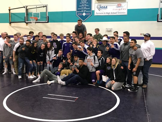 Spanish Springs has won the past five Northern 4A Region wrestling titles.