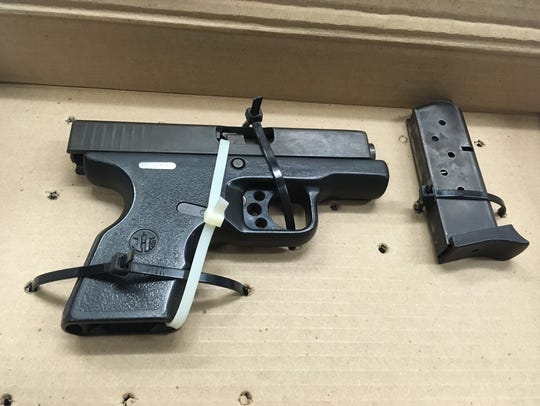 A firearm recovered Wednesday morning in Oxnard after