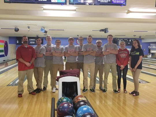 Bethel-Tate's bowling team is coached by Ohio Division