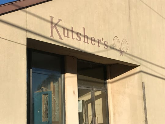 A fading sign at the former Kutsher's Resort in the Catskills shows the old and new of the region with a $1.2 billion opening Feb. 8.