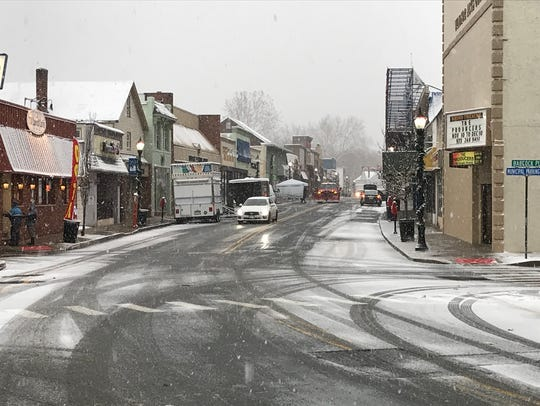 Wanaque Avenue in downtown Pompton Lakes near Backcock