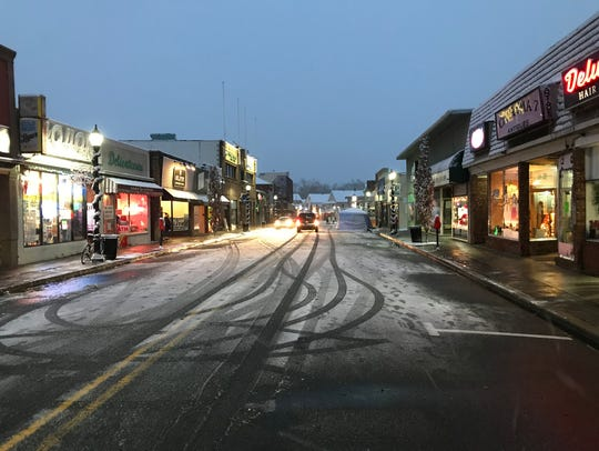 Wanaque Avenue in downtown Pompton Lakes near Colfax Avenue on Dec. 9, 2017.