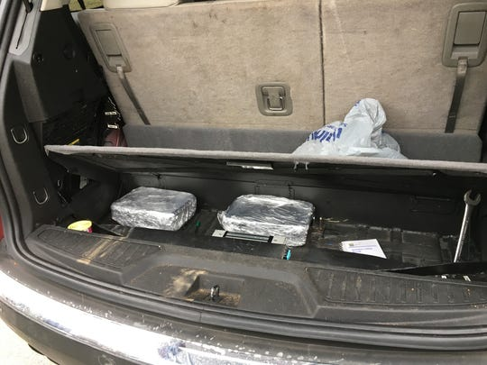 Image of smuggled methamphetamine. Provided by the Greenville County Sheriff's Office.