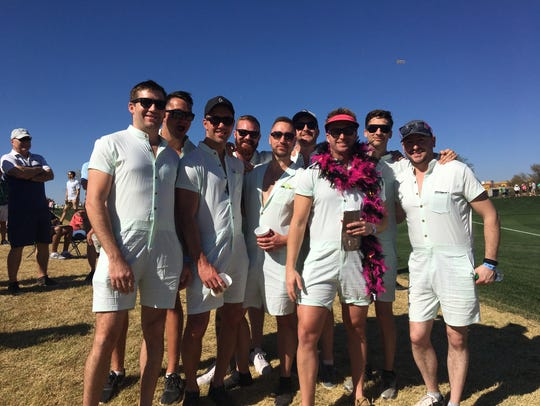 Rompers at the Phoenix Open? Sure.