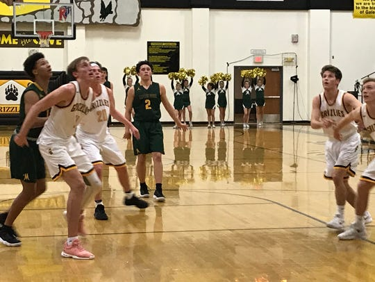 Bishop Manogue edged Galena by two on Friday.