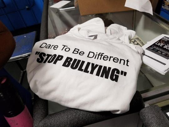 T-Shirt that supports an end to bullying.