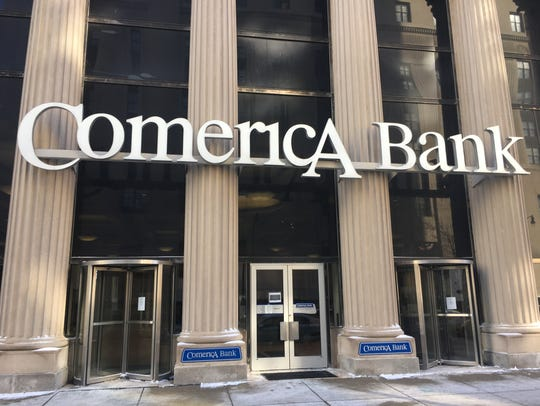 The mystery buyer for the Comerica branch building in downtown Detroit remains confidential, Monday, Feb. 5, 2018.
