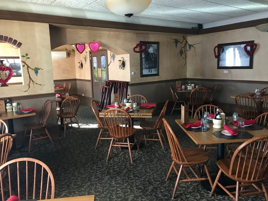 Angelina's owner Sheryl Volpano's goal is for the restaurant to offer a comfortable, family-friendly atmosphere.