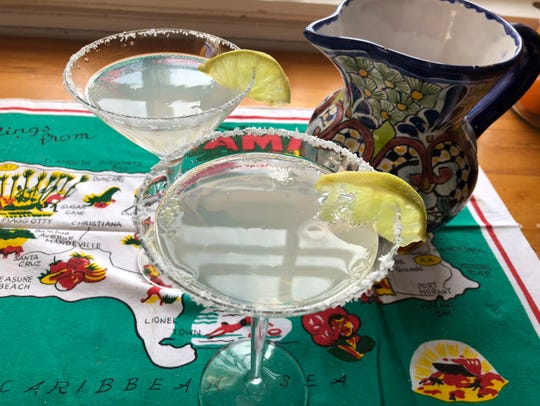 Ultimate Margaritas help set the tone for a tropical-themed