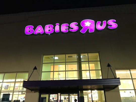 The Babies R Us store on Route 17 in Paramus is one of the stores targeted to close.